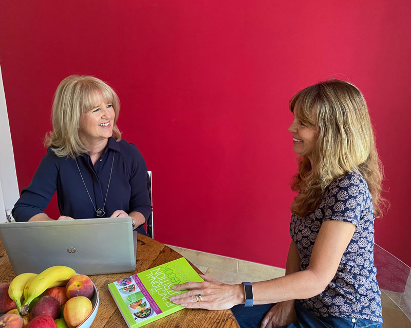 Nutritional therapy consultation with Alison Peacham
