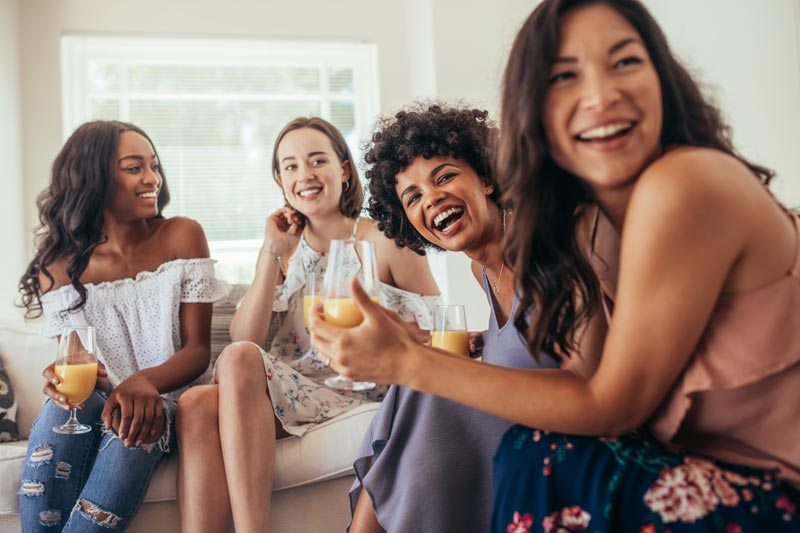 Womens health and Nutrition Healthy women laughing together